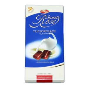Microse Dia Rose Tejcsokoládé 100G Diabetikus
