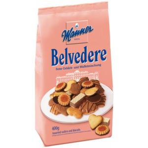 MANNER BELVEDERE VEGYES ízesítésü teasütemény 400G