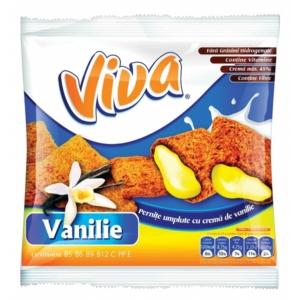 Viva vanília ízű töltelékkel töltött gabonapárna 100 g