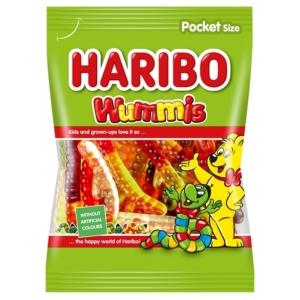 Haribo Wummis F!zz gyümölcs ízű gumicukorka 100 g