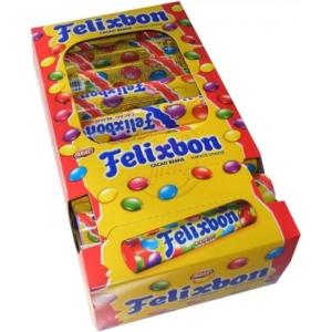 Felixbon színes cukormázba mártott kakaós drazsé 20G