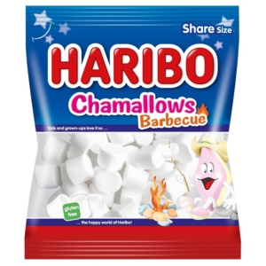 Haribo Chamallows Barbecue mályvacukor 100G