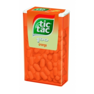 Tic-Tac narancs ízű cukordrazsé 49G