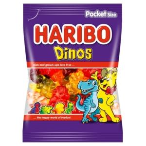 Haribo Dinos gyümölcs ízű gumicukorka 100 g