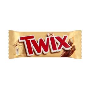 Twix Kekszes szeletek karamellával tejcsokoládéba mártva 50G