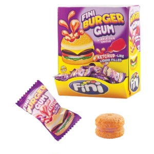 Fini 200Db-os Burger Bubble Gum 1Kg  /10164/