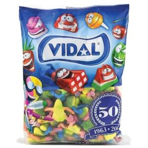 Vidal Töltött Teknős Vegyes Gyümölcs Ízú  Gumicukor 1000g