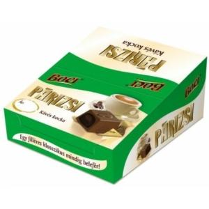 Melba  alkoholos kávé ízű krémmel töltött tejcsokoládé kocka 12.5G