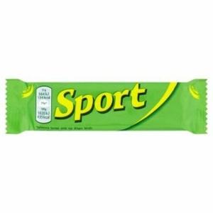 Sport étcsokoládéval mártott rumos ízű kakaós szelet 31g