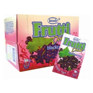 Kendy Frutti Drink Italpor 8.5G Feketeribizli Blackcurrant