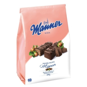 Manner Ostya 400G Haselnuss-Mignon