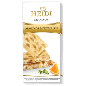 Heidi 100G Grand'Or Almond&Pist. White 414047