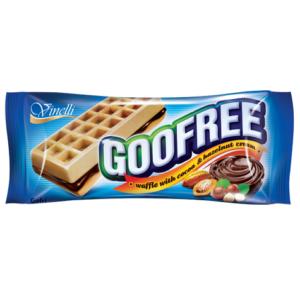 Goofree 50G Kakaós-Mogyorós Krémmel Töltött