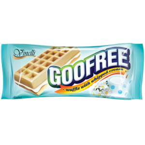 Goofree 50G Tejszínes Krémmel Töltött