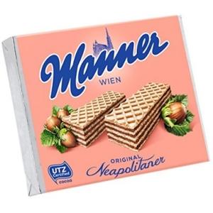 Manner Ostya 75G Mogyorós Krémmel