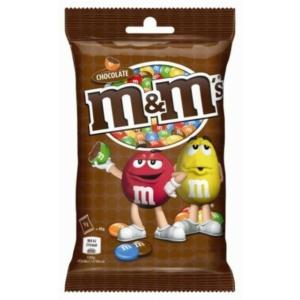 M&M's Tejcsokoládés drazsé cukorbevonattal 90G