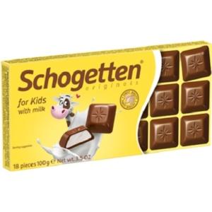 Schogetten  Kinder tejcsokoládé gyerekeknek 100G