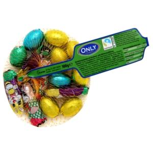 Only színes csokitojások és csokinyuszik 100 g