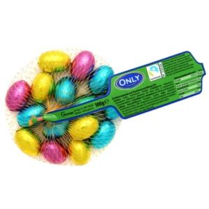 Only színes csokitojások 100 g (15 db)