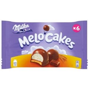 Milka Melo-Cake csokoládéval borított mályvacukor keksz párnán 100G