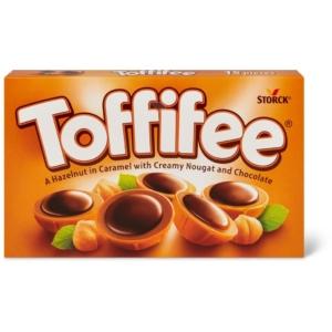 Toffifee mogyoró karamellben, mogyorós nugátkrémmel és csokoládéval 125G