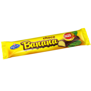Figaro étcsokoládéval bevont banán ízű töltelékkel töltött szelet 20G Gluténmentes