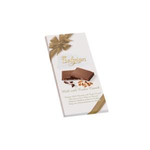 Belgian Milk Cookie Crunch 100G Tejcsokoládé Ropogós Keksszel BPTL1003
