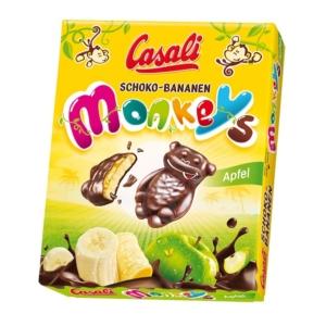 Casali Schoko-Bananen 140G Apfel Monkeys