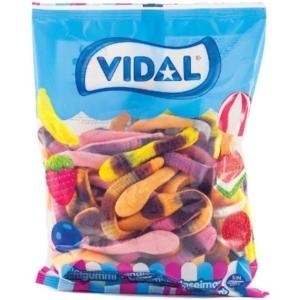Vidal gyümölcs ízű anakonda gumicukor 1KG