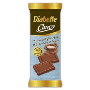 Diabette Tejcsokoládé 13G Cukormentes