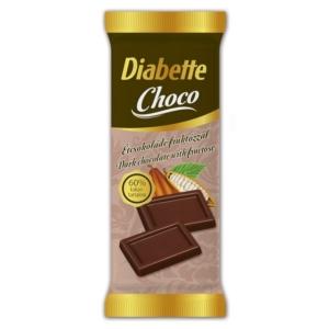 Diabette Choco étcsokoládé 13G Cukormentes