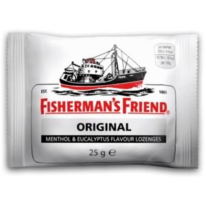 Fisherman's Friend 25G Cukorka Fehér Mentol, Nagyon Erős