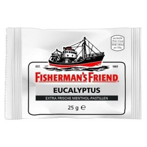 Fisherman's Friend Mentol-Eukaliptusz Ízű Keménycukorka 25g