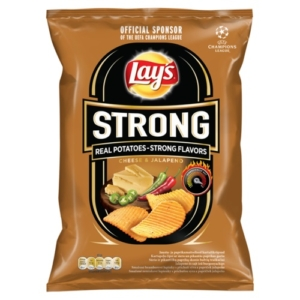 Lays 65-77G Strong Cheese Jalapeno