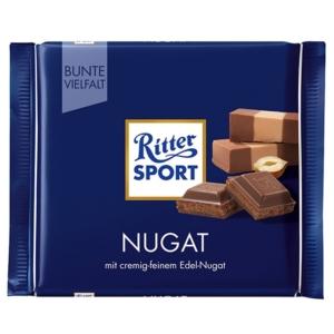 Ritter Sport mogyorókrémmel töltött tejcsokoládé 100G