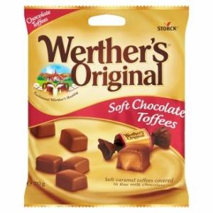 Werther's Original Soft 70G Choc.Toffees