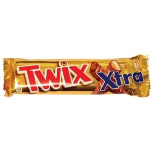 Twix Kekszes szeletek karamellával tejcsokoládéba mártva 75G