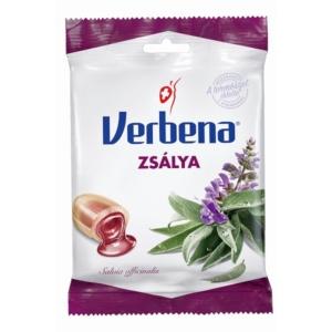 Verbena zsálya ízű töltelékkel töltött cukorka 60G