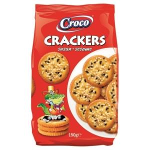 Croco Crackers 150G Szezámos