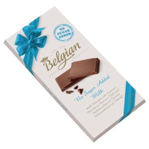 Belgian tejcsokoládé 100G Cukormentes