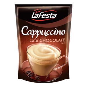 Cappuccino Lafesta Kávé Utántöltő Csokoládé 100G