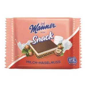 Manner Ostya 25G Mogyorós Milch & Hazelnut