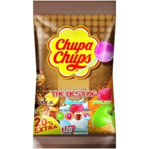Chupa Chups Nyalóka Utántöltő Best Of 12G