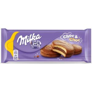 Milka Keksz 150G Choc And Choc