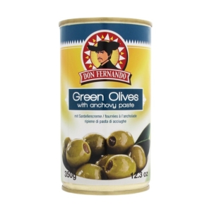 Don F. 350G Green Olives /85669/ With Anchovy Paste