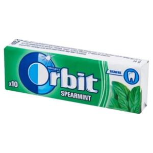 Orbit menta (spearmint) ízű rágó 14 g, cukormentes