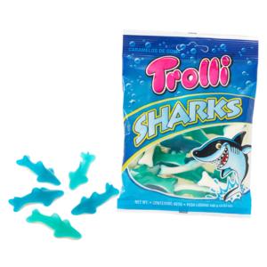 Trolli cápa formájú gumicukor 100G