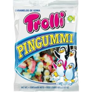Trolli Pingvin formájú gumicukor 100G