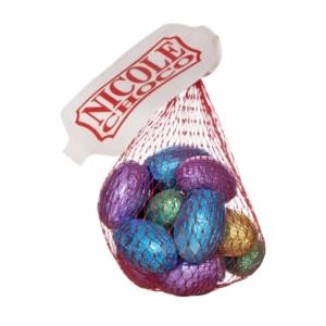 Nicole csokitojások hálóban 120 g