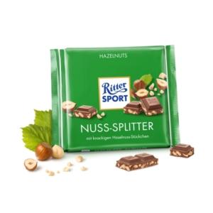 Ritter Sport mogyoróval töltött tejcsokoládé 100G